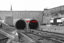 PHOTO  1979 NEW TUNNELS IN NEWCASTLE WHEN THE TYNE AND WEAR METRO WAS CONSTRUCTE