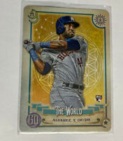 2020 Topps Gypsy Queen Yordan Alvarez #TOD-5 Rookie Houston Astros