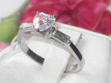 Stainless Steel Cubic Zirconia Simulated Costume Rings