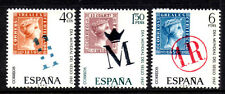 (Ref-8161) Spain 1967 World Stamp Day SG.1856/1858  Mint (MNH)