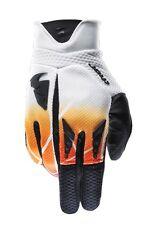 Thor Flux Mens MX Dirt Bike Off Road ATV Motocross Gloves- Orange- 2X