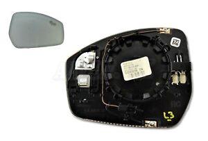 Jaguar F-Pace E-Pace L550 Right Side Convex Auto-Diming Door Mirror Glass+BSM