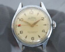 100% Authentic DELBANA Hand Winding Unisex Wrist Watch 17Jewels ANTIMAGNETIC