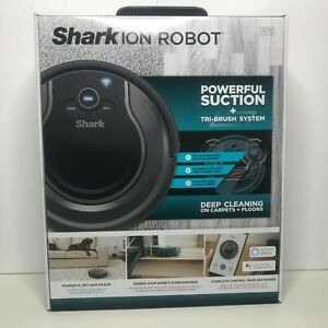 Shark ION Robot R75 Wi-Fi Connected Alexa Control Smart Vacuum Powerful Suction