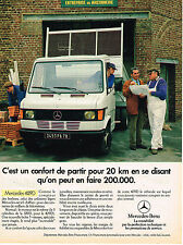 PUBLICITE ADVERTISING 025  1984  MECEDES-BENZ  409D   utilitaire