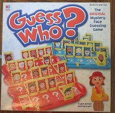 GUESS WHO? Mystery Face guessing game 2005 MB/Hasbro  AGES 6 UP