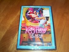 KATY PERRY THE MOVIE PART OF ME Singer Music Biography SEALED NEW DVD