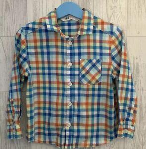 Boys Age 3-4 Years - H&M Long Sleeved Shirt