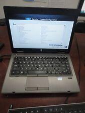 "HP ProBook 6460b 14"" Core i5 2.60Ghz 4gb DVD-RW Web-cam Wi-Fi ""NO HDD"" Laptop"