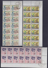 VIETNAM SOUTH 1971 Sc 398/400 x 10 Shiny White Gum NHVF