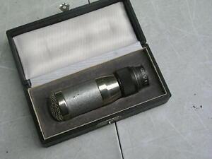 älteres Vintage Mikrofon Funkberater PHG  MD 30 2 mit Box