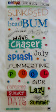 Phrase Cafe: Lazy Days of Summer: wave chaser, carefree, beach bum, sunkissed,