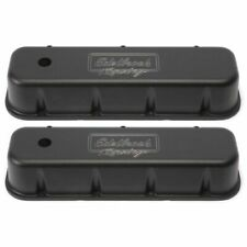 Edelbrock 41803 Victor Valve Covers, For 1965 & Later Chevy Big Block 396-502