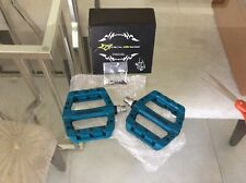 ROCKBROS Mountain MTB Wide Nylon Pedals Blue US