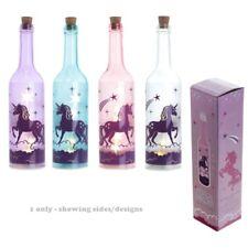 Puckator Mystical Unicorn Decorative Bottle With LED Lights JAR49