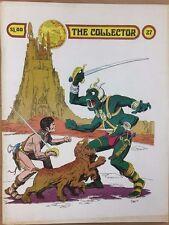THE COLLECTOR #27 vintage 1973 fanzine Ditko Fantucchio Newton ERB John Carter