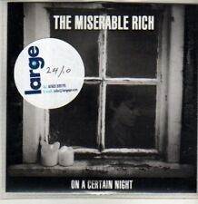 (CU75) The Miserable Rich, On A Certain Night - 2011 DJ CD