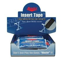 "Master 3/4"" Black Bowling Tape 32 Piece Pack"