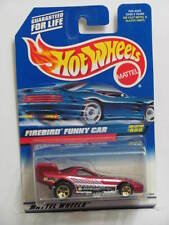 HOT WHEELS 1999 FIREBIRD FUNNY CAR #998 RED