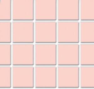 Dolls House Pink  Tile Flooring Sheet Moulded Plastic Miniature 1:12 Scale