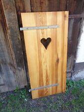1 Stück Fensterladen - Holz - gebraucht - Höhe 128 cm - Breite 58,5 cm