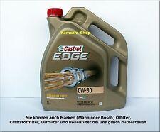 DA BERLINO OLIO MOTORE CASTROL EDGE TITANIO FST 0W-30 5 litri 0W30