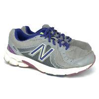 New Balance Womens 450 V3 W450GV3 Gray Purple Blue Running Shoes Size 8.5 D