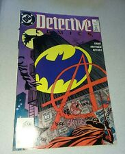 1990 DC DETECTIVE COMICS #608 1ST APPEARANCE ANARKY classic key book rare