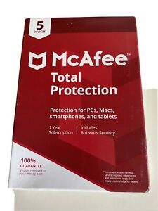 McAfee MCA950800F013 Total Protection 5 Device Antivirus Software