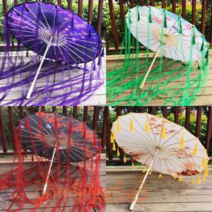 Umbrella Hanfu Accessories Ancient Costume Umbrella oiled paper umbrella Cosplay