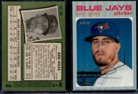 2020 Topps Heritage Chrome Refractor Ken Giles #227/571 (THC-168) Blue Jays