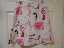 Cute Copper Key A line pencil skirt size 5 beautiful Love women design Free Ship