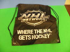 NHLNETWORK LOGO-WHERE THE NHL GETS HOCKEY CING BACK PACK