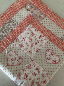 Handmade Baby Gift Play. floor roll Tummy Time Blanket/Quilted    Girl