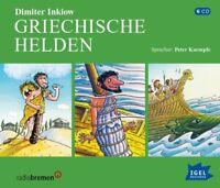 DIMITER INKIOW/PETER KAEMPFE - GRIECHISCHE HELDEN  6 CD NEW