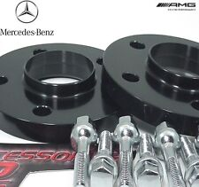 2 Pc BLACK ANODIZED MERCEDES E CLASS 02-18 Wheel Spacer 15mm # AP-5112-66-15BK