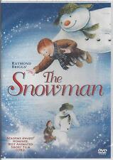 Raymond Briggs' THE SNOWMAN Academy Award Nominee Children's Christmas RARE DVD