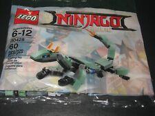 Lego Ninjago 30428 Green Dragon Mech polybag sealed New