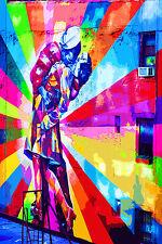STUNNING POP ART GRAFFITI URBAN STREET ART CANVAS #737 QUALITY CANVAS A1 PICTURE