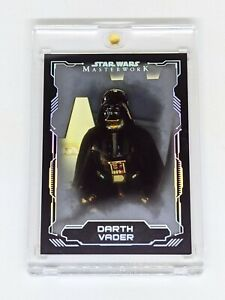 2016 Star Wars Masterwork Silver #1 Darth Vader /99