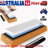 1000/6000 Dual Whetstone Waterstone Knife Sharpening Water Wet Stone Sharpener