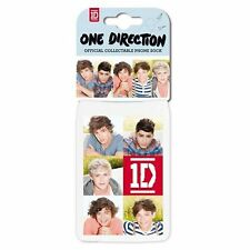 1D One Direction White iPhone Blackberry Sock Band Logo Cover Case Gift Official