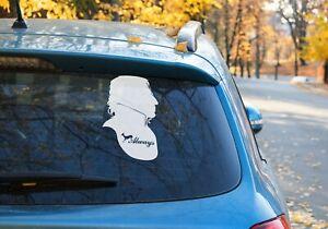 Severus Snape Harry Potter Vinyl decal Sticker Car Window laptop  OZ 9 COLOR