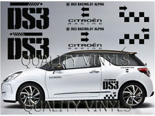 Citroen DS3 Side Rally Graphics Decal Stickers P50