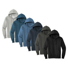 Men's Comfortable Full Zip Fleece Hoodie Sweatshirt  XS-S-M-L-XL-2X-3X-4X NWT