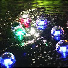 OUTDOOR SOLAR colore cambiando LED LUCI GALLEGGIANTI percorso PAESAGGIO POND pool Lampada