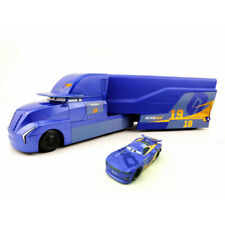 Cars 3 Next Gen 19# Danny Swervez Mack Hauler Truck & Racer Diecast Toy Car New