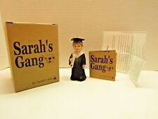 Sarah's Gang From The Heart Love Starts with Children Graduate Buddy Cap & Gown