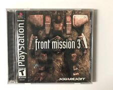 PS1  Front Mission 3  - USED BLACK LABEL COmplete