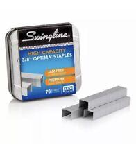 Swingline Optima High Capacity Staples 38 Leg Length 125 Per Strip 2500 Per Box